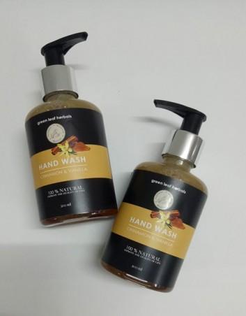 Cinnamon & Vanilla Hand Wash